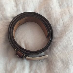 Kenneth Cole brown leather belt